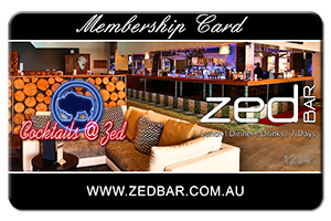 ZedBar Membership Club